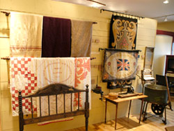 Exhibits at the North Highland Museum & Cultural Centre